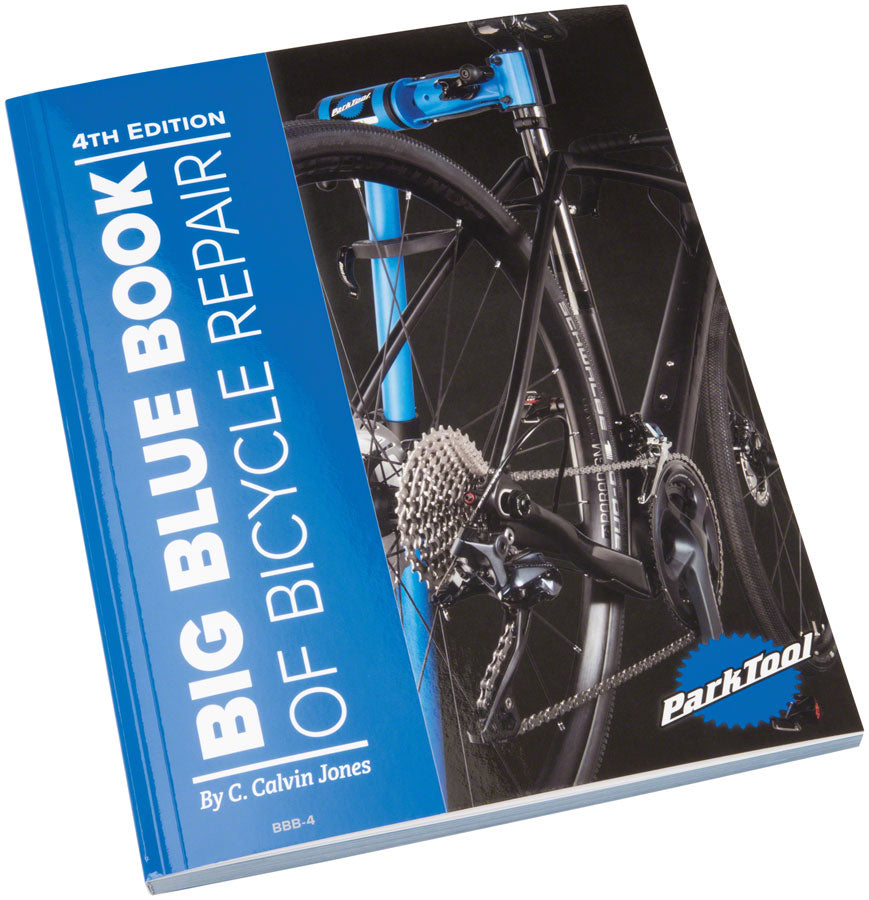 Park Tool BBB-4 Big Blue Book of Bike Repair 4th Edition MPN: BBB-4 UPC: 763477103499 Bike Repair/Maintenance Guide Park Tool Big Blue Book of Bike Repair