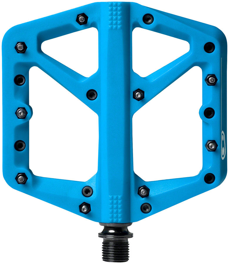 "Crank Brothers Stamp 1 Pedals - Platform, Composite, 9/16"", Blue, Large MPN: 16269 UPC: 641300162694 Pedals Stamp 1 Pedals"