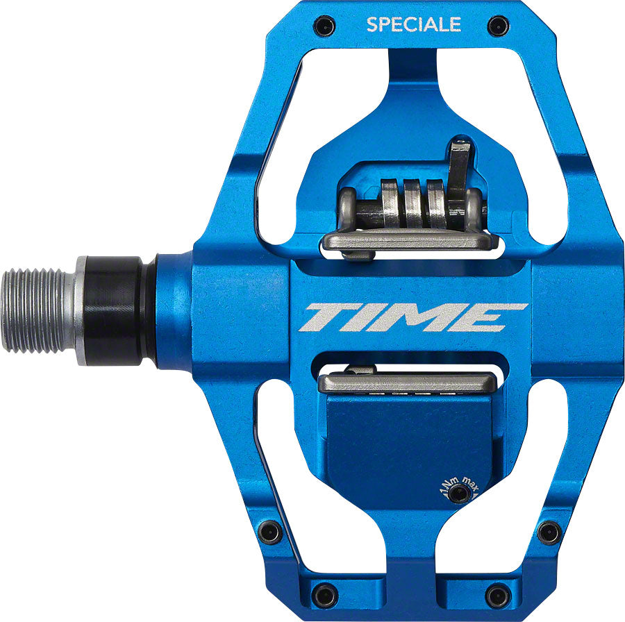 Time SPECIALE 12 Pedals - Dual Sided Clipless with Platform, Aluminum, 9/16