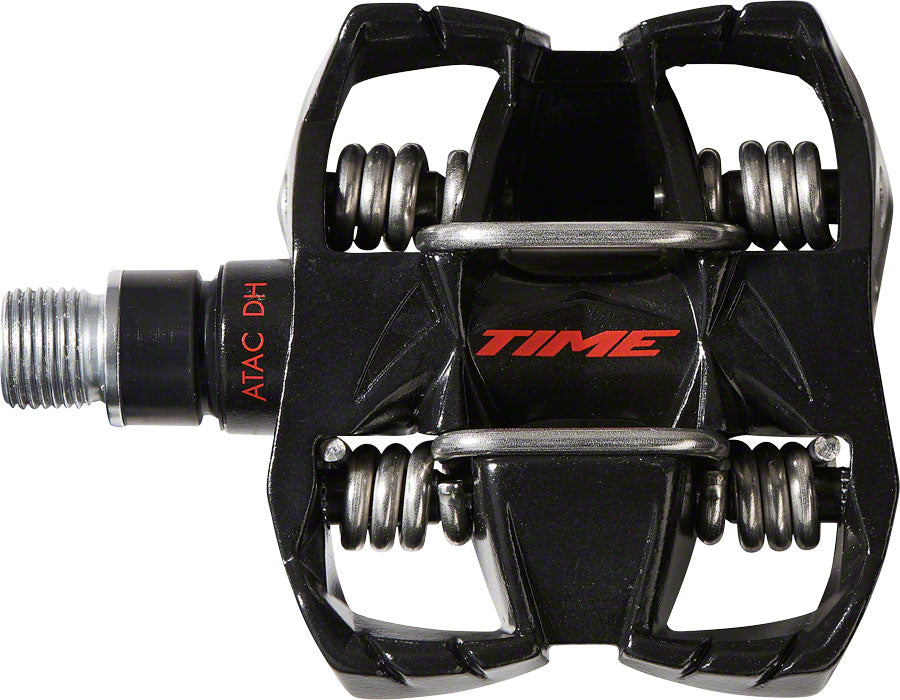 Time ATAC DH 4 Pedals - Dual Sided Clipless with Platform, Aluminum, 9/16