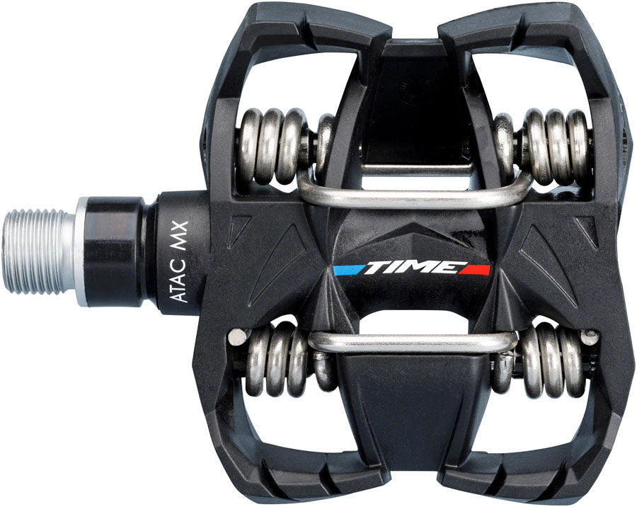 Time Time MX 6 Pedals - Dual Sided Clipless with Platform, Composite, 9/16