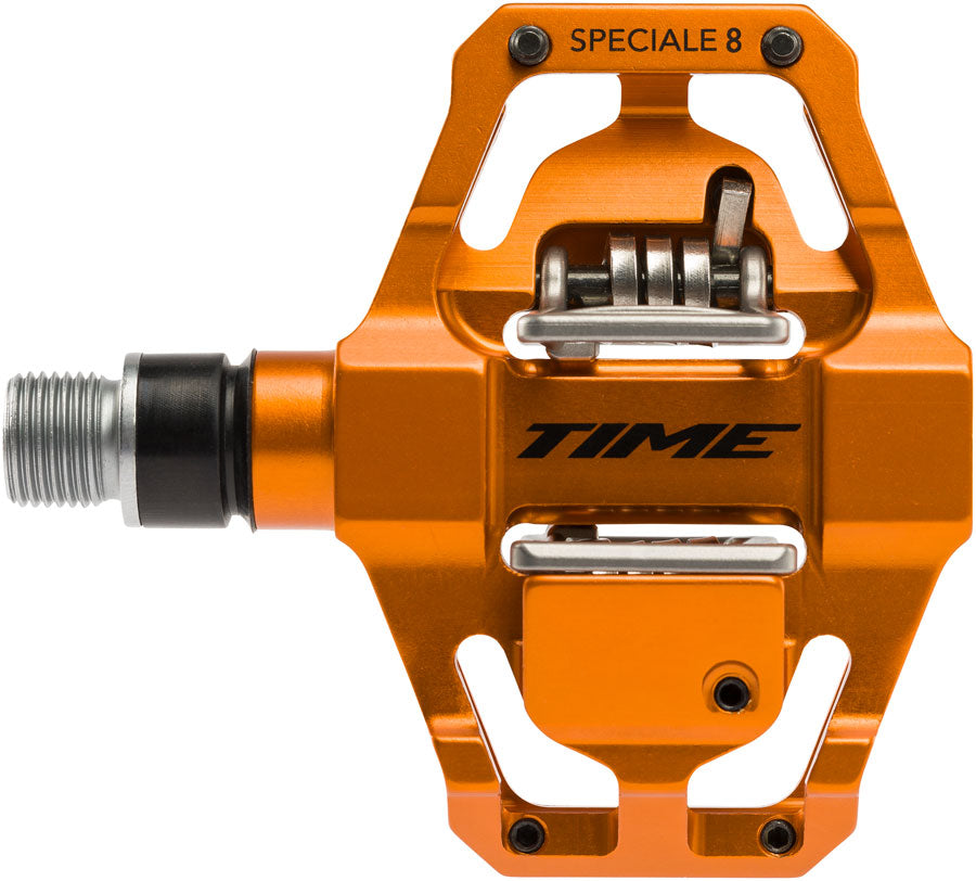 Time SPECIALE 8 Pedals - Dual Sided Clipless with Platform, Aluminum, 9/16