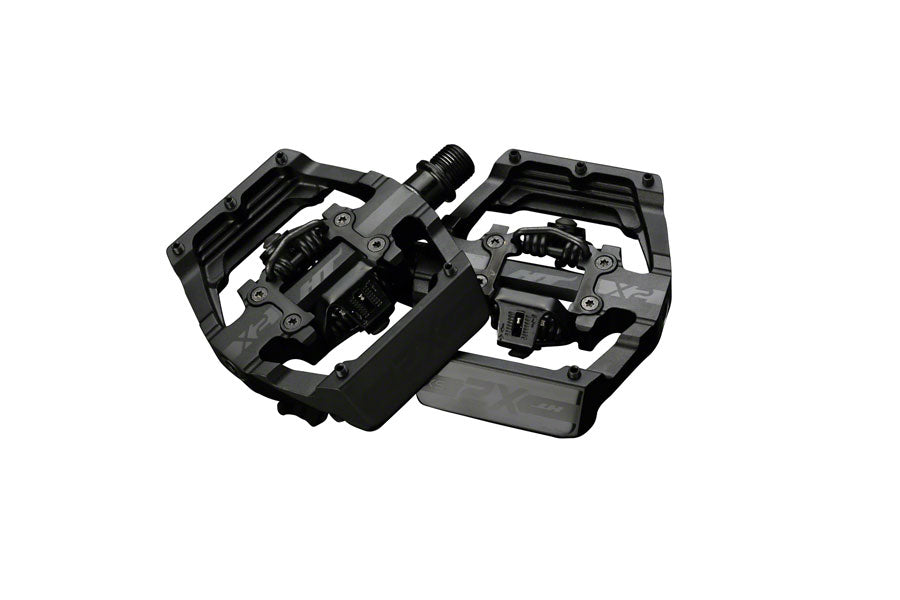 HT X2-XS BMX-SX Pedals - Dual Sided Clipless with Platform, Aluminum, 9/16