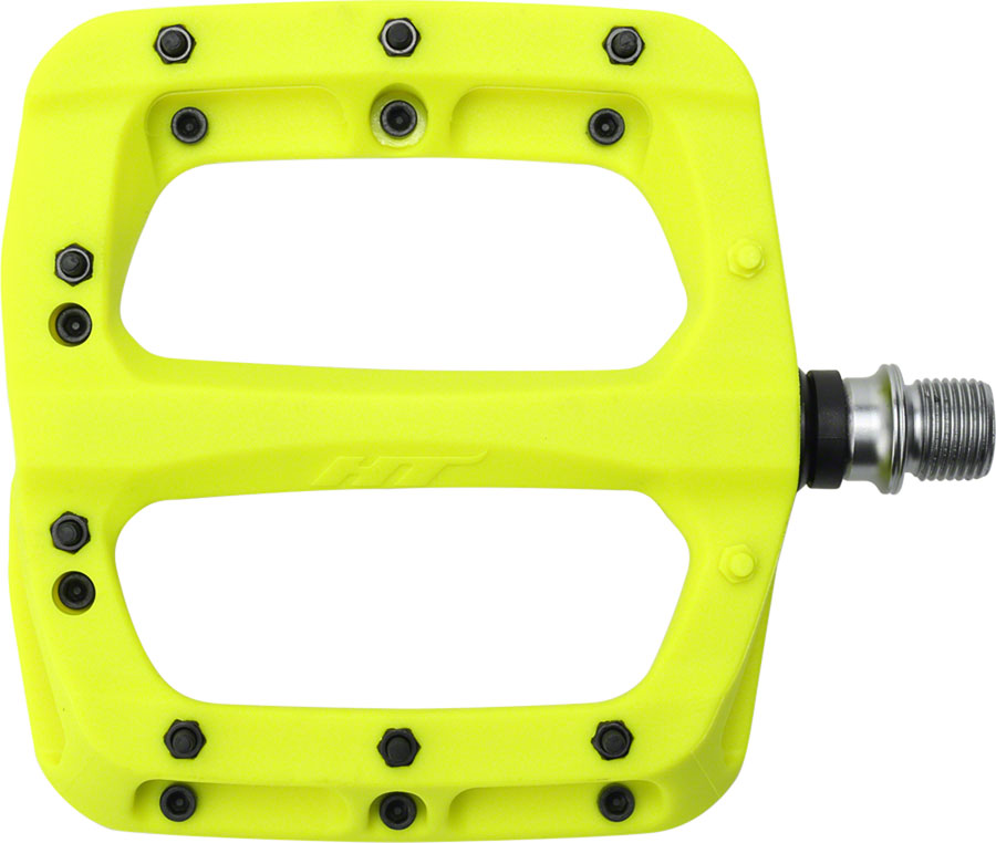 HT Pedals ME03T Evo Platform Spindle Ti MTB BMX DH Pedals  Yellow