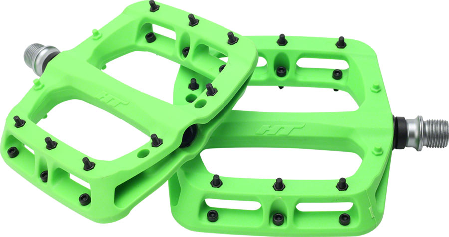 HT Pedals PA03A Platform Pedals Turquoise CrMo