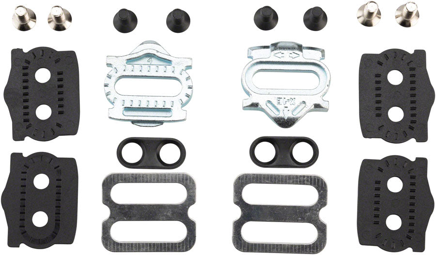 HT Components X1 Cleat Kit, 4 Degrees of Float, Multi-release, Easy engagement MPN: 127X1E02 Clipless Cleat Cleat Kit