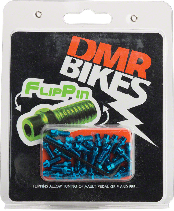 DMR Flip Pins for Vault Pedals 44 Piece Set Blue