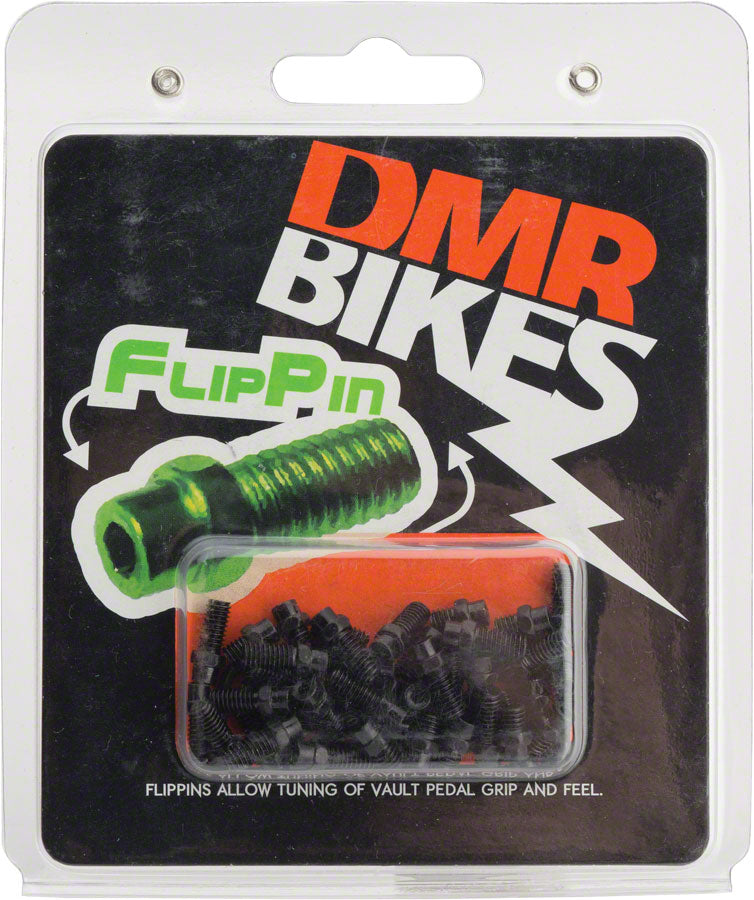 DMR Flip Pins for Vault Pedals 44 Piece Set Black