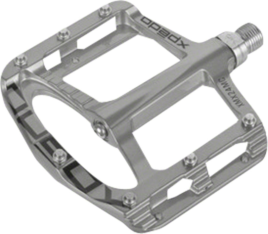 Xpedo Spry BMX/MTB Pedal, Silver