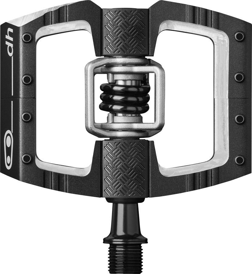 "Crank Brothers Mallet DH Pedals - Dual Sided Clipless with Platform, Aluminum, 9/16"", Black MPN: 16094 UPC: 641300160942 Pedals Mallet DH Pedals"