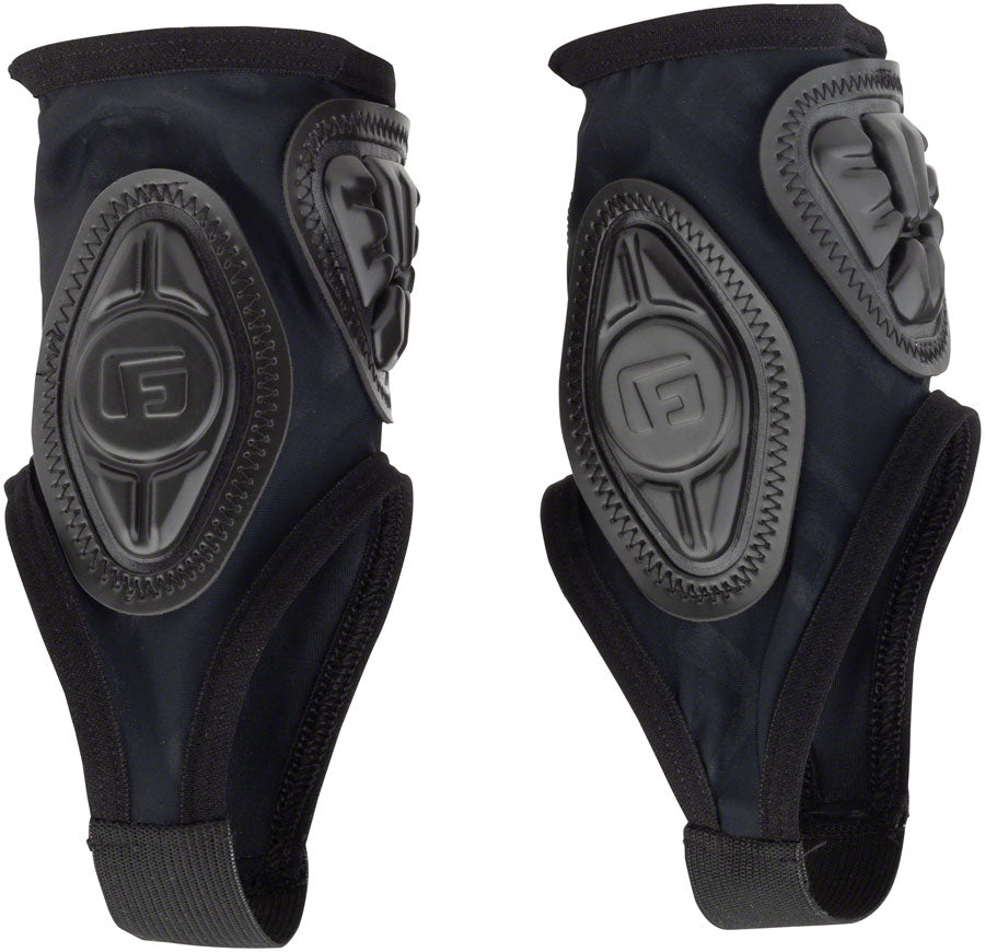 G-Form Pro-X Ankle Guards: Black Embossed SM/MD MPN: AG0102338 UPC: 847631052523 Leg Protection Pro-X Ankle