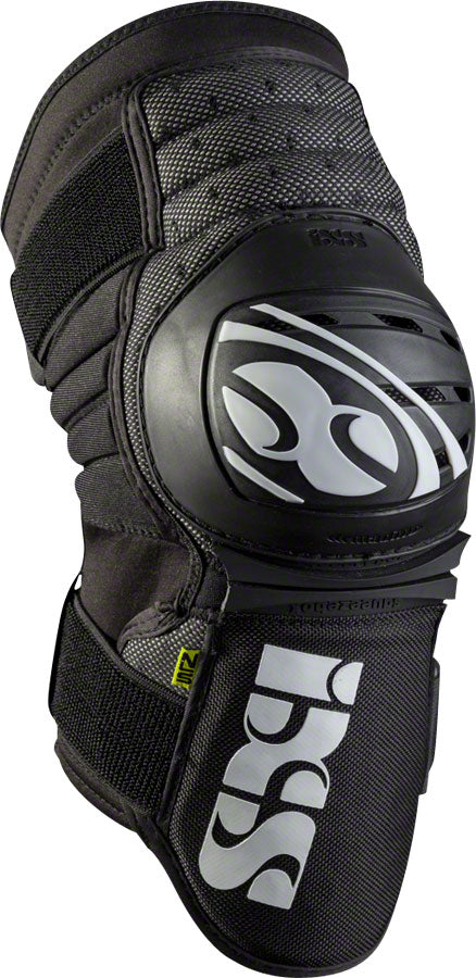 iXS Dagger Knee Guard: Black, LG
