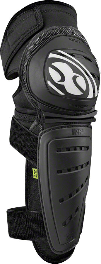 iXS Mallet Knee/Shin Guard: Black, LG