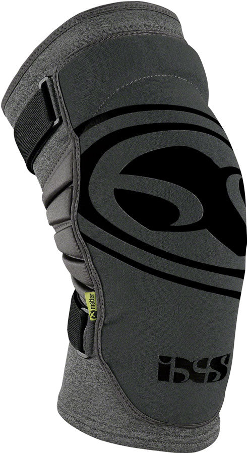 iXS Carve Evo+ Knee Pads: Gray SM