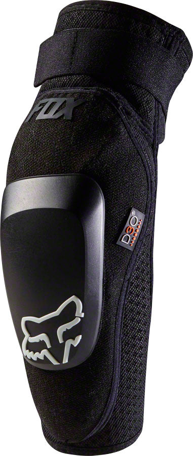 Fox Racing Launch Pro D30 Elbow Pad: Black, MD
