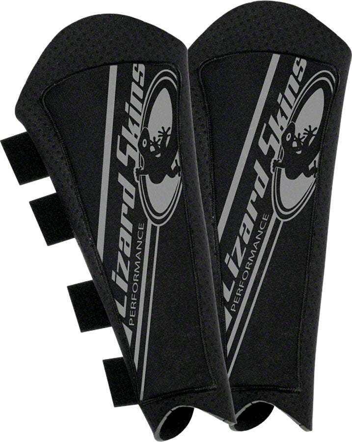 Lizard Skins Protective Shin Guard: Black