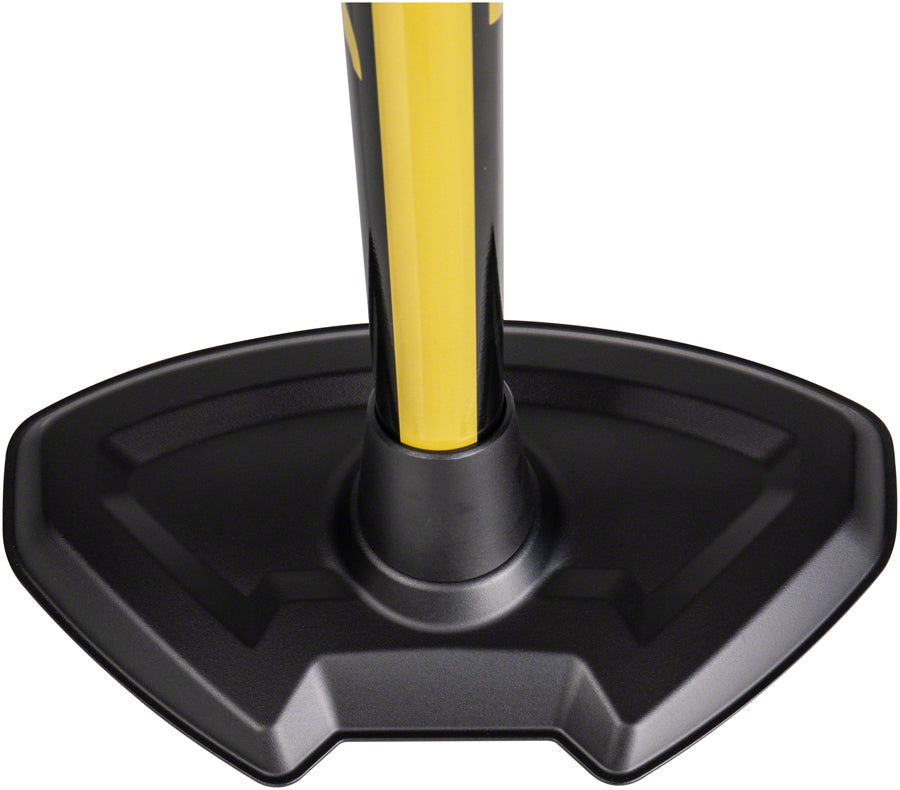 Topeak JoeBlow Pro Digital Floor Pump - 200psi / 13.8bar Digital Gauge, SmartHead DX3, Air Release Button, Black/Yellow MPN: TJB-PRO-DG UPC: 883466019249 Floor Pump JoeBlow Pro Digital Floor Pump