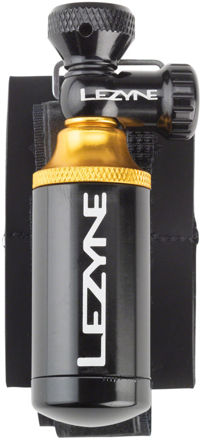 Lezyne CO2 Blaster Inflater and Tubeless Repair Kit without Cartridges MPN: 1-PK-TBC2-V204 CO2 and Pressurized Inflation Device Blaster CO2 Inflator