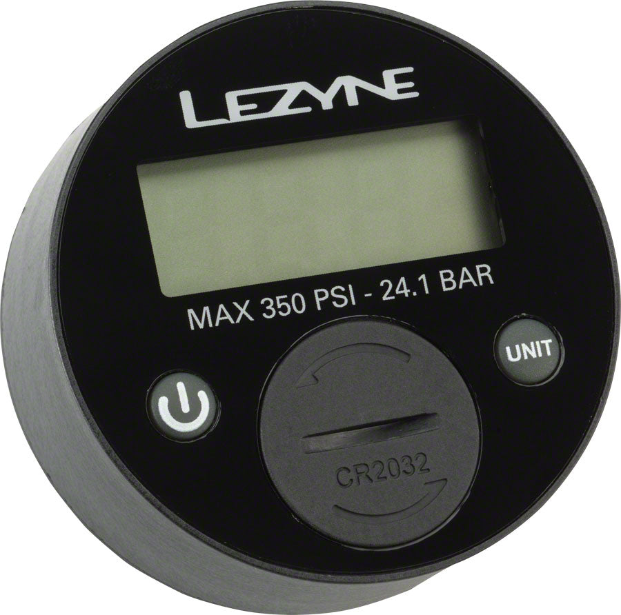 "Lezyne 350psi Digital 2.5"" Gauge for all floor pumps MPN: 1-RP-FLDGUE-V1350 Pump Part Pump Parts"
