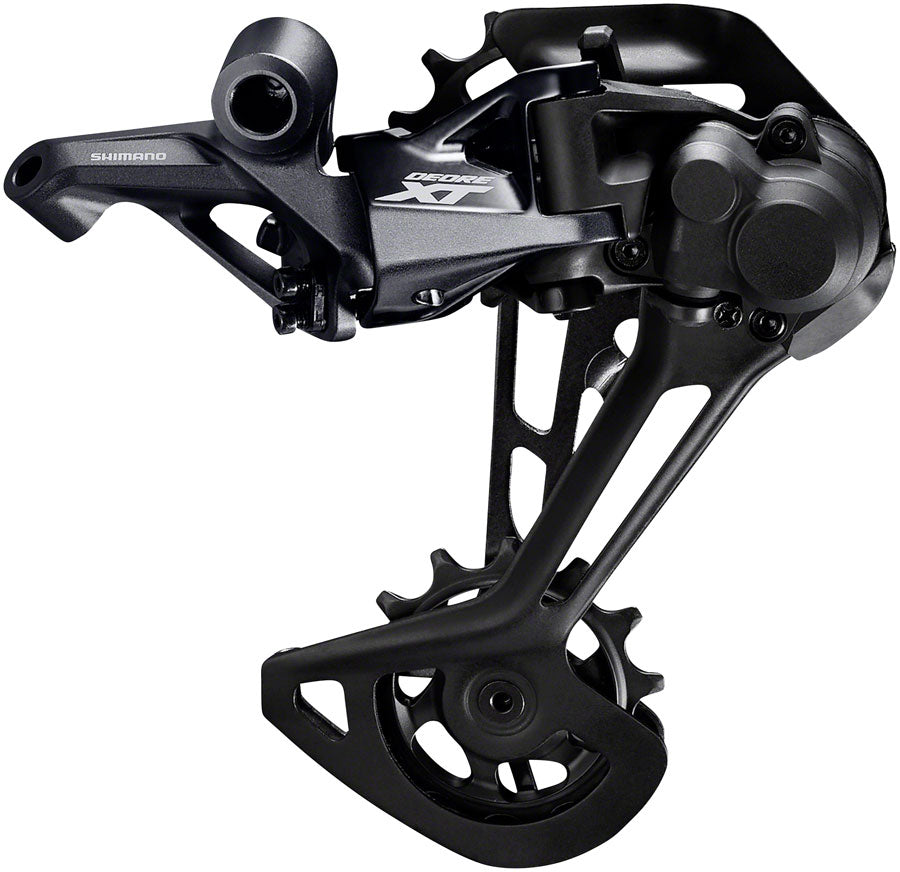 Shimano XT RD-M8100-SGS Rear Derailleur - 12-Speed, Long Cage, Black, For 1x