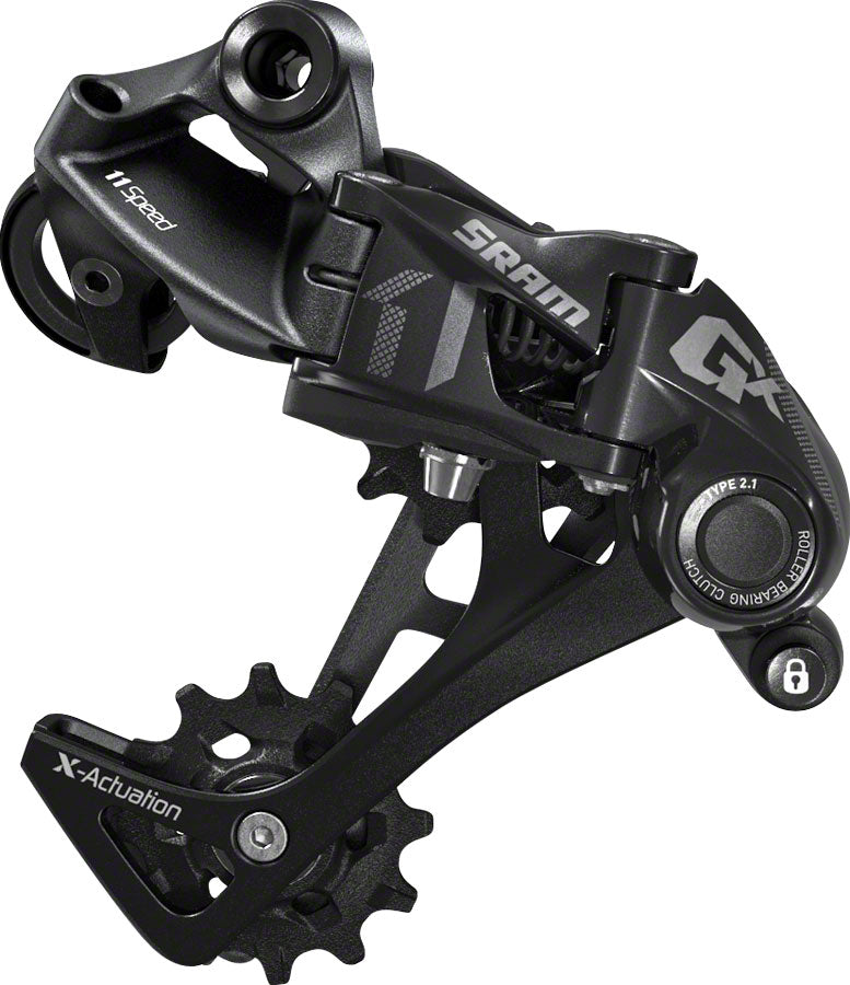 SRAM GX 1x11 Speed Long Cage Rear Derailleur Black MPN: 00.7518.081.000 UPC: 710845770203