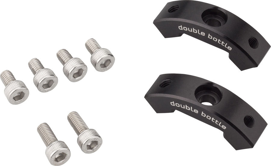 Wolf Tooth B-RAD Double Bottle Cage Adapter MPN: B-RAD-ADPT-DB UPC: 812719025812 Other Rack B-RAD Double Bottle Adapter