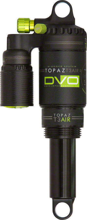 DVO Topaz Air Shock 8.5 x 2.5/ 215 x 63mm MPN: 1569101 UPC: 811551022522 Rear Shock Topaz Rear Shock