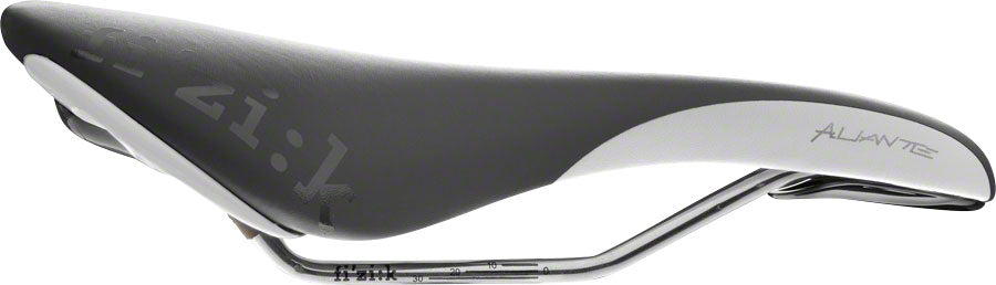 Fizik Aliante Gamma Saddle - Kium, Black/White - Saddles - Aliante Gamma Saddle