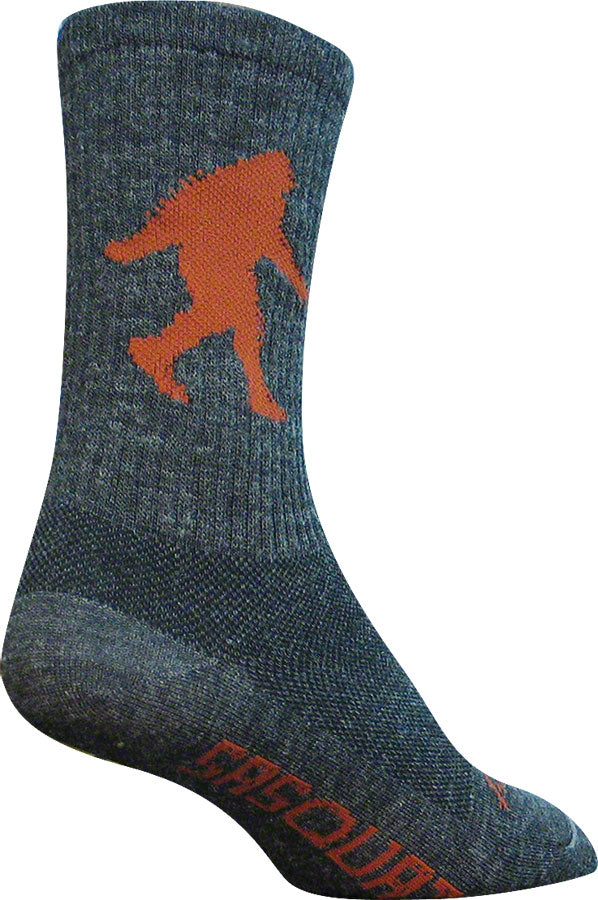 SockGuy Wool Sasquatch Sock: Gray LG/XL MPN: WCRSAS L UPC: 875621003545 Sock Wool Socks