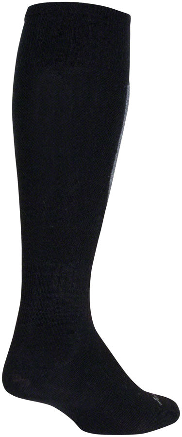 SockGuy Mountain Flyweight Wool Socks - 12 inch, Elite, Small/Medium
