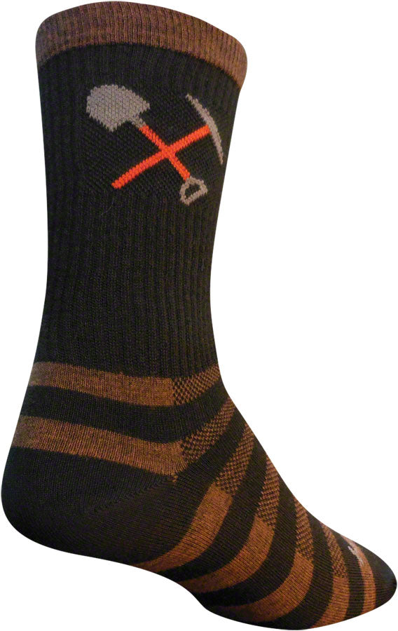 SockGuy Trail Maintenance Wool Socks - 6 inch, Black, Large/X-Large MPN: WCRTRAIL L UPC: 091037132352 Sock Wool Socks
