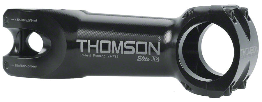 Thomson Elite X4 Mountain Stem - 80mm, 31.8 Clamp, +/-0, 1 1/8