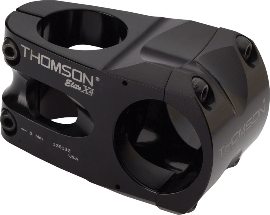 Thomson Elite X4 Mountain Stem - 40mm, 35 Clamp, +/-0, 1 1/8