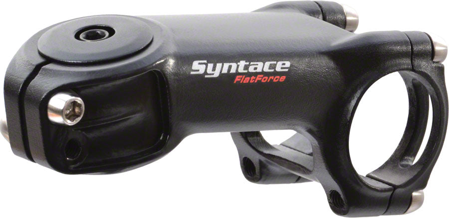 "Syntace Flatforce Stem - 44mm, 31.8 Clamp, -30, 1 1/8"", Alloy, Black MPN: 112162 Stems Flatforce Stem"