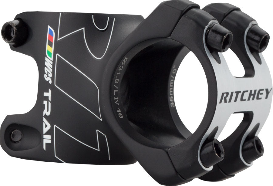 Ritchey WCS Trail Stem: 35mm, +/- 0, 31.8, 1-1/8, Blatte MPN: 31455427031 UPC: 796941317627 Stem WCS Trail