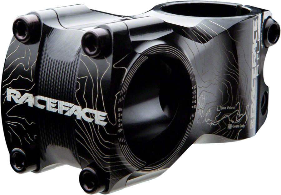 RaceFace Atlas Stem - 50mm, 31.8mm, 0 Degree, Aluminum, Black MPN: ST12A31.850X0BLK UPC: 821973186832 Stem Atlas Stem
