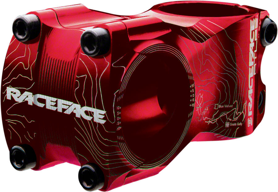 Race Face Atlas Stem, 50mm +/- 0 degree Red