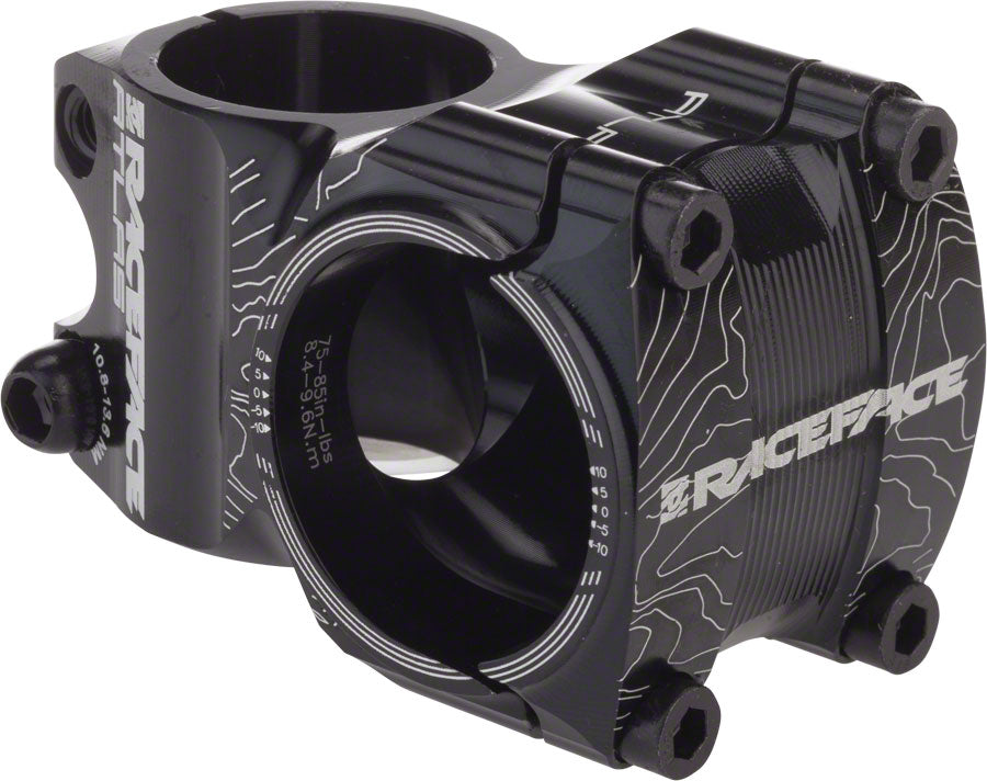 RaceFace Atlas 35 Stem, 35mm +/- 0 degree Black MPN: ST13A3535X0BLK UPC: 895428009458 Stem Atlas 35