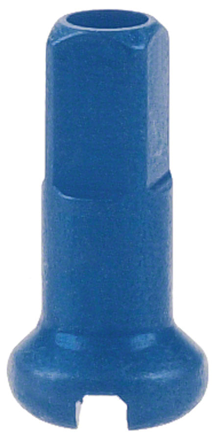 DT Swiss 2.0 x 12mm Blue Alloy Nipples, Box of 100