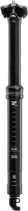 RaceFace Aeffect R Dropper Seatpost - 31.6 x 465mm, 170mm, Black