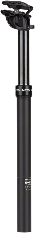 KS eTen R Dropper Seatpost 27.2, 100mm Travel Black