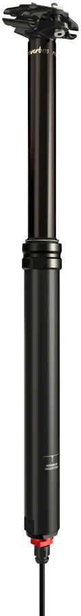 RockShox Reverb Stealth Dropper Seatpost - 31.6mm, 125mm, Black, 1x Remote, C1 MPN: 00.6818.042.005 UPC: 710845831270 Dropper Seatpost Reverb Stealth C1 Dropper Seatpost