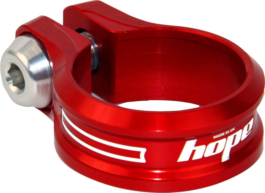 Hope Bolt Seat Clamp, 31.8mm, Red