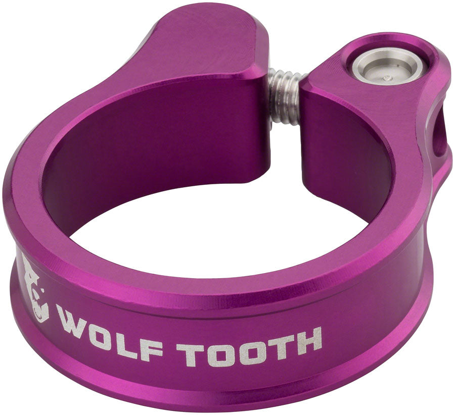 Wolf Tooth Seatpost Clamp 31.8mm Purple MPN: SC-32-PRP UPC: 810006800128 Seatpost Clamp Seatpost Clamp