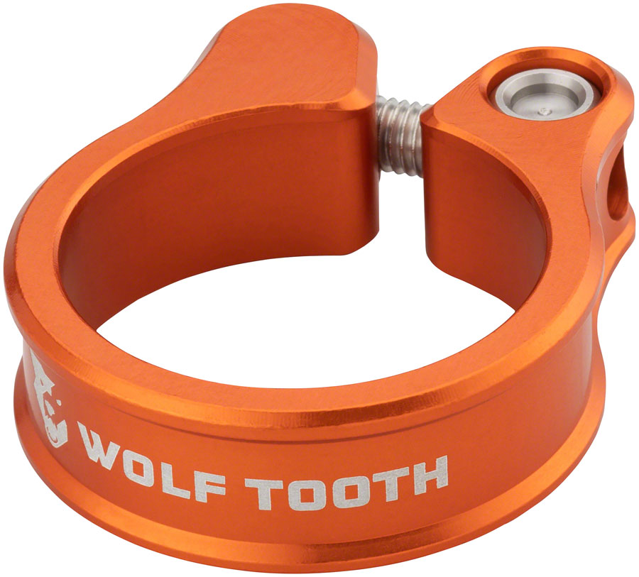 Wolf Tooth Seatpost Clamp 31.8mm Orange
