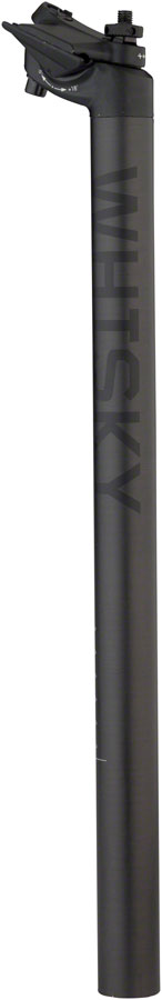 WHISKY No.7 Carbon Seatpost - 27.2 x 400mm, 18mm Offset, Matte Carbon