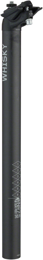 WHISKY No.7 Carbon Seatpost - 30.9 x 400mm, 18mm Offset, Matte Carbon