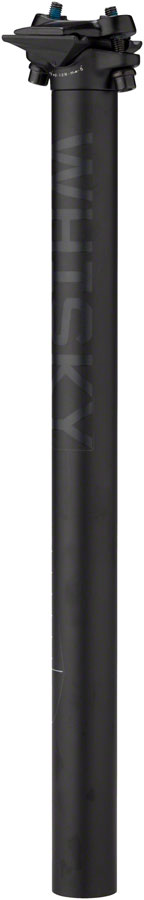 WHISKY No.7 Alloy Seatpost - 30.9 x 400mm, 0mm Offset, Matte Black
