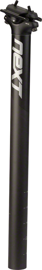 Race Face Next SL Carbon Seatpost, 27.2 x 400mm Black