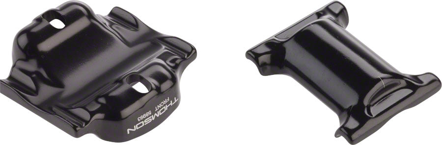 Thomson Elite Seatpost Saddle Clamp Assembly for Oversize Rails 7 x 10mm: Black
